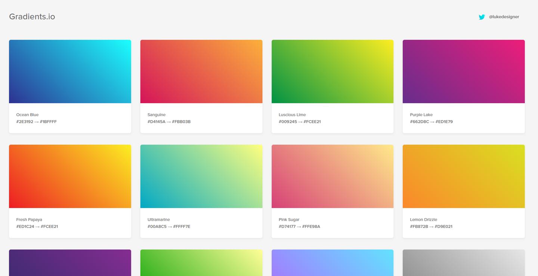 gradients-io